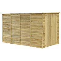 vidaXL Șopron de grădină, 315 x 159 x 178 cm, lemn de pin tratat