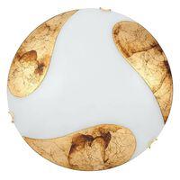 Plafoniera Art gold, 2 x E27 max 60W