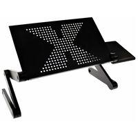 United Entertainment Suport de laptop multifuncțional, negru