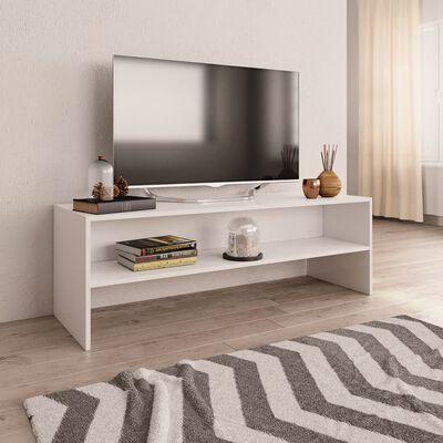 vidaXL Comodă TV, alb, 120 x 40 x 40 cm, PAL