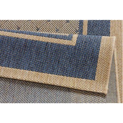 Covor Hanse Home Modern & Geometric Natural, Albastru, 80x150