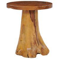 vidaXL Măsuță de cafea, 40x40 cm, lemn masiv de tec