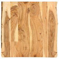 vidaXL Blat de masă, 60x(50-60)x2,5 cm, lemn masiv de acacia