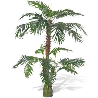 vidaXL Plantă artificială Palmier Cycas, 150 cm