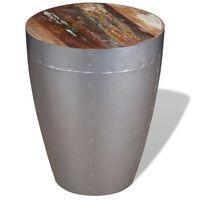 vidaXL Scaun tip aviator, lemn masiv reciclat