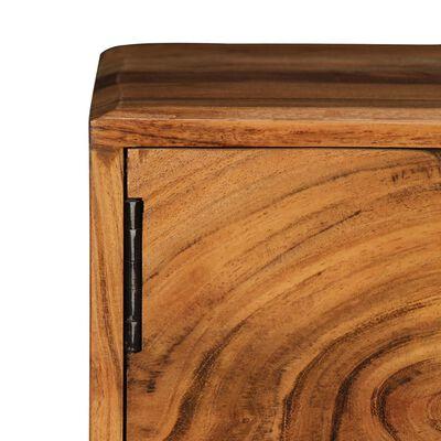 vidaXL Comodă TV, 88 x 30 x 40 cm, lemn masiv de salcâm