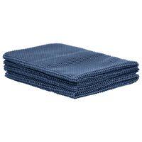 vidaXL Covor pentru cort, albastru, 250x550 cm