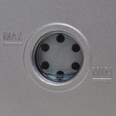 vidaXL Pompă de vid cu o etapă, cu set de manometre cu 2 porturi