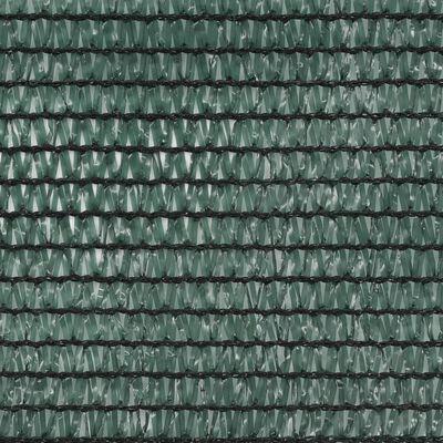 vidaXL Plasă teren de tenis, verde, 1,6 x 100 m, HDPE