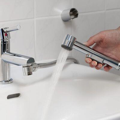 SCHÜTTE Set duș de mână pentru chiuvetă, crom