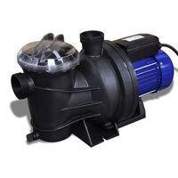 Pompă electrică pentru piscină 1200 W, Albastră