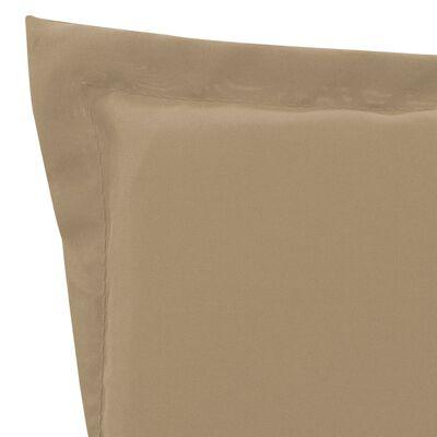 vidaXL Pernă de șezlong, bej, 180 x 55 x 3 cm