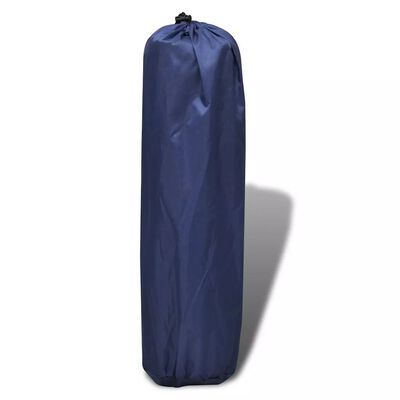 Saltea auto-gonflabilă albastră, 1 persoană 185 x 55 x 3 cm