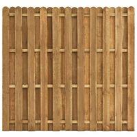 vidaXL Panou de gard cu șipci alternative 180 x 170 cm lemn pin