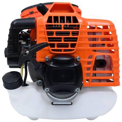 vidaXL Set unelte de grădinărit 4-în-1, cu motor pe benzină, 52 cmc