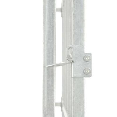 vidaXL Padoc pentru câini de exterior, cu acoperiș, 300x150x200 cm