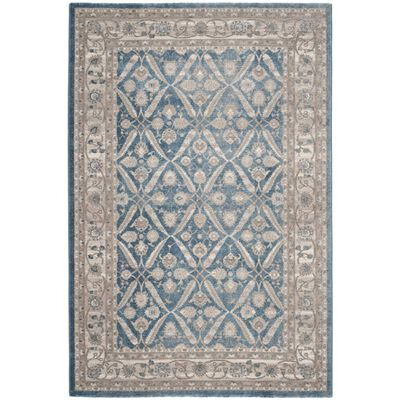Covor Safavieh Oriental & Clasic Alysia, Albastru/Bej, 90x150