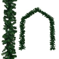 vidaXL Ghirlandă de Crăciun, PVC 10 m