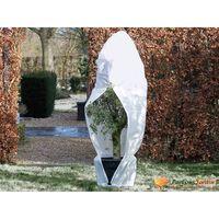 Nature Husă anti-îngheț din fleece cu fermoar alb 1,5x1,5x2 m, 70 g/m²