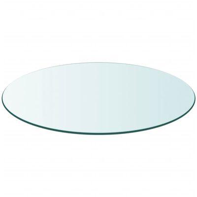 vidaXL Blat de masă din sticlă securizată, rotund, 300 mm
