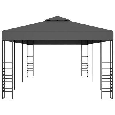 vidaXL Pavilion marchiză, antracit, 3 x 6 m