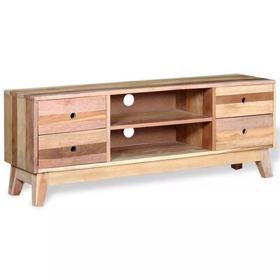 vidaXL Comodă TV, lemn masiv reciclat