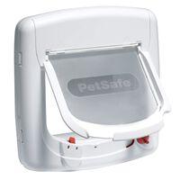 PetSafe Clapetă magnetică cu 4 căi pentru pisici Deluxe 400 alb 5005