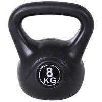 Kettlebell 8 Kg Pentru Antrenament Cross Training Negru