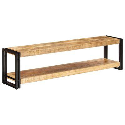 vidaXL Comodă TV, 150 x 30 x 40 cm, lemn masiv de mango