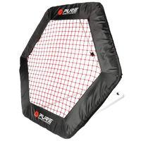 Pure2Improve Plasă fotbal rebounder, 140 x 125 cm, hexagonal