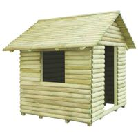 vidaXL Căsuță de joacă din lemn de pin tratat 167x150x151 cm