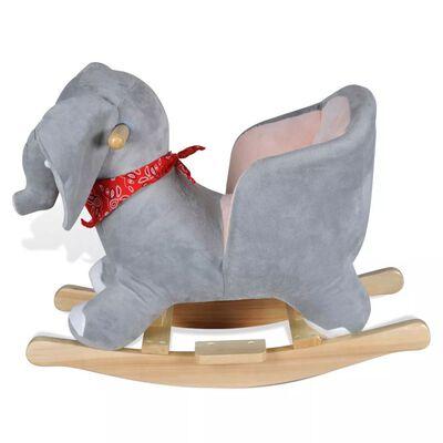 vidaXL Balansoar în formă de animal, elefant