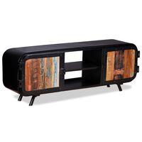 vidaXL Comodă TV, 120 x 30 x 45 cm, lemn masiv reciclat