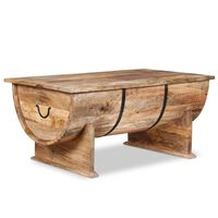 vidaXL Măsuță de cafea din lemn masiv de mango 88 x 50 x 40 cm