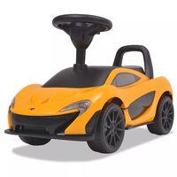 vidaXL Mașinuță fără pedale McLaren P1, galben