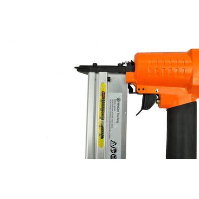Pistol pneumatic de împușcat cuie + capsator 2 în 1