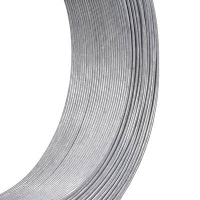 vidaXL Fir de tensionare pentru gard, 250 m, 2,5 mm, oțel