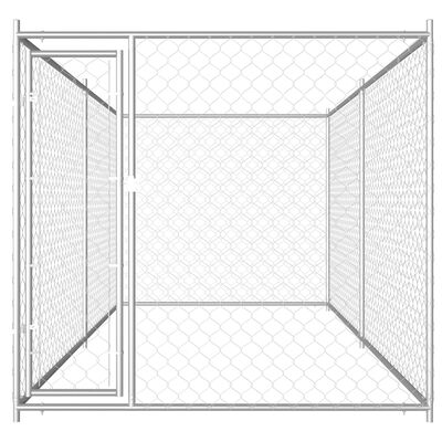 vidaXL Padoc pentru câini de exterior, 382 x 192 x 185 cm