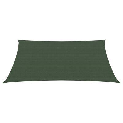vidaXL Parasolar, verde închis, 2x3 m, HDPE, 160 g/m²