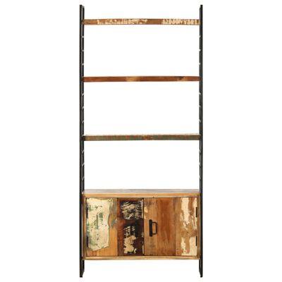 vidaXL Bibliotecă cu 4 niveluri, 80 x 30 x 180 cm, lemn masiv reciclat