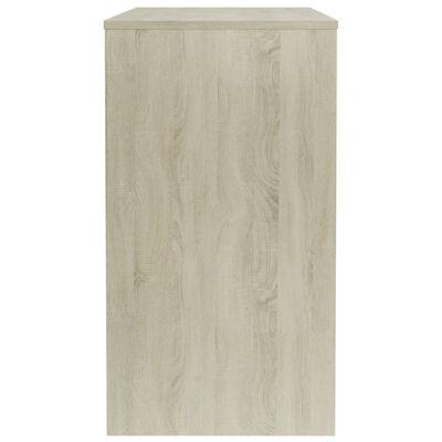 vidaXL Birou, stejar Sonoma, 90 x 40 x 72 cm, PAL