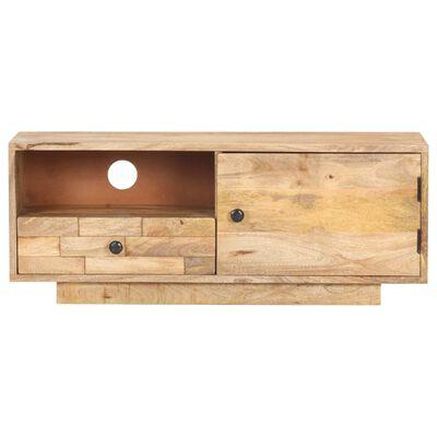 vidaXL Comodă TV, 90x30x35 cm, lemn masiv de mango