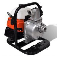 vidaXL Pompă de apă alimentată cu benzină, în 2 timpi, 1,2 kW, 0,95 L