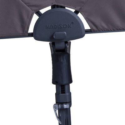 Madison Umbrelă de soare balcon Sun Wave gri taupe 270x150 cm PAC3P015