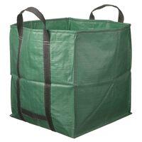 Nature Sac de deșeuri pentru grădină, verde, 325 L, pătrat, 6072401