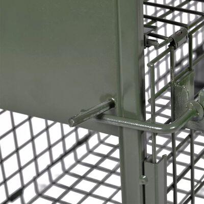 vidaXL Cușcă capcană cu 1 ușă