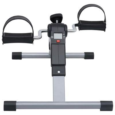 vidaXL Aparat exerciții cu pedale pentru picioare și brațe, afișaj LCD