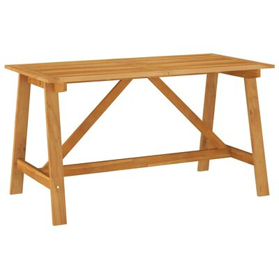 vidaXL Set de masă pentru grădină, 5 piese, maro