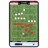 Pure2Improve Planșă tactică antrenor de rugby 35 x 22 cm