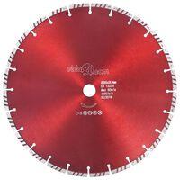vidaXL Disc diamantat de tăiere cu turbo oțel 350 mm